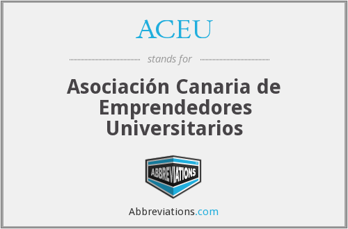 What does ACEU stand for?