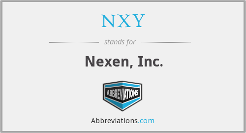 NXY - Nexen, Inc.