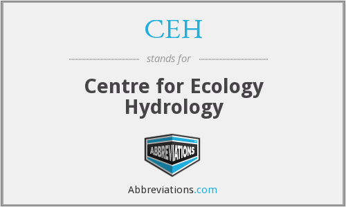 CEH - Centre for Ecology Hydrology