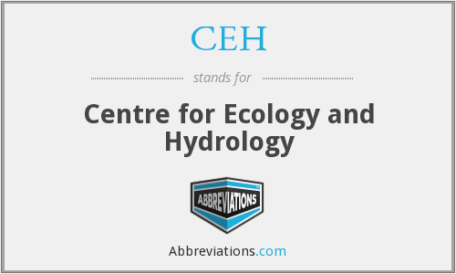 CEH - Centre for Ecology and Hydrology