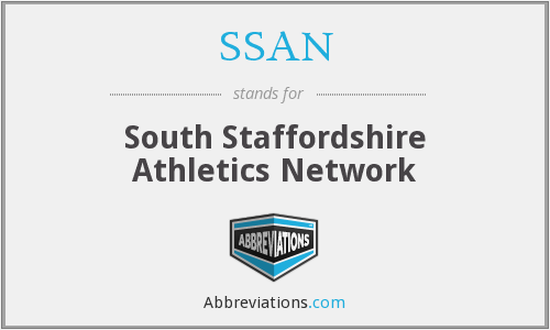 SSAN - South Staffordshire Athletics Network