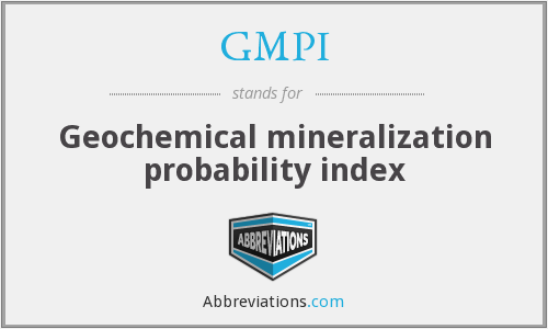 What does mineralization stand for?