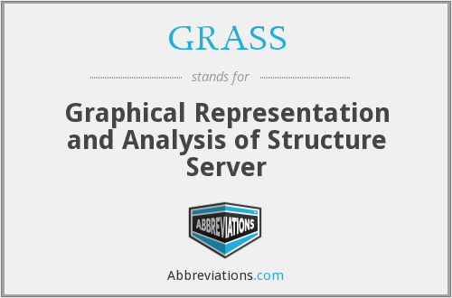 GRASS - Graphical Representation and Analysis of Structure Server