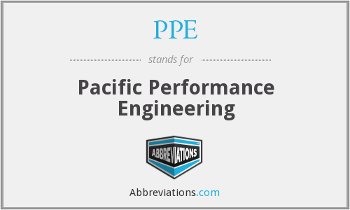 PPE - Pacific Performance Engineering