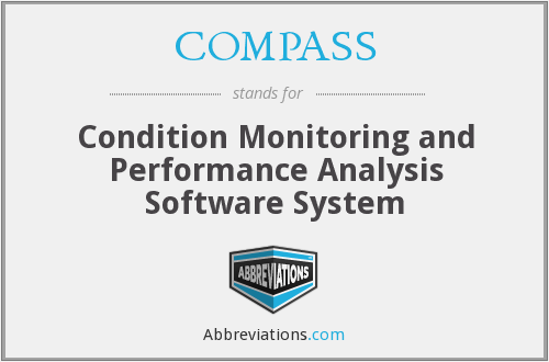 COMPASS - Condition Monitoring and Performance Analysis Software System