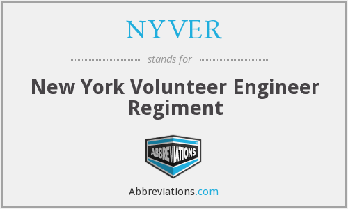 NYVER - New York Volunteer Engineer Regiment
