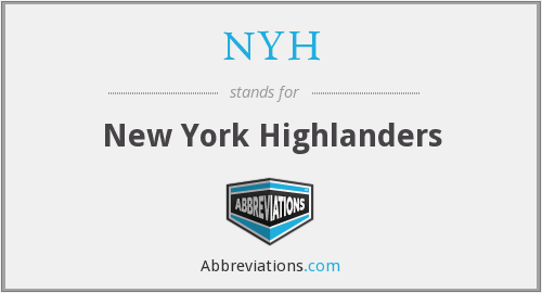 NYH - New York Highlanders