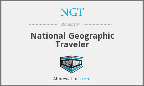 NGT - National Geographic Traveler