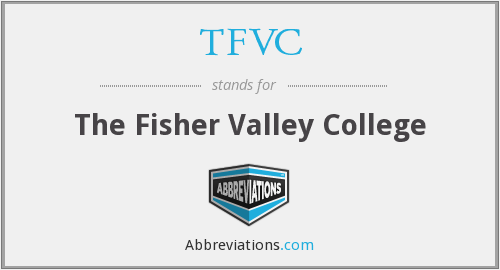 TFVC - The Fisher Valley College