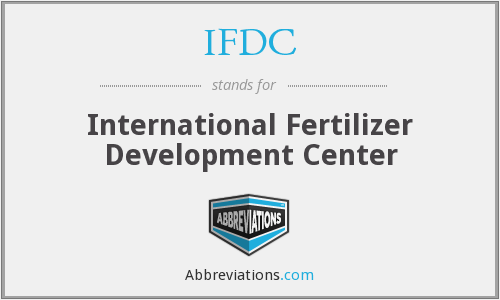 What does IFDC stand for?