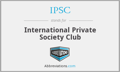 What does IPSC stand for?