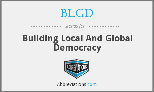 What does BLGD stand for?