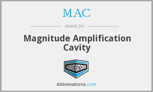 MAC - Magnitude Amplification Cavity