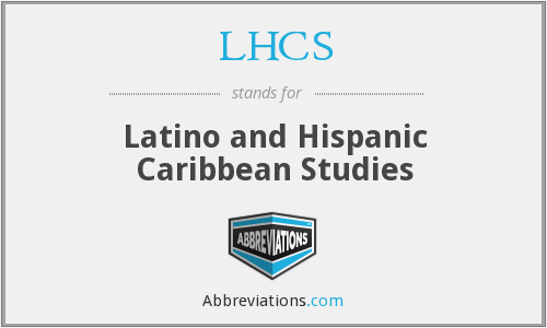What does LHCS stand for?