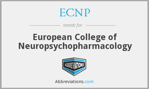 What does ECNP stand for?