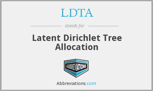 LDTA - Latent Dirichlet Tree Allocation