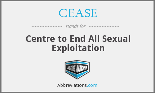 CEASE - Centre to End All Sexual Exploitation