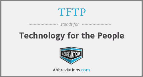 What does TFTP stand for?
