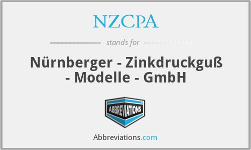 NZCPA - Nürnberger - Zinkdruckguß - Modelle - GmbH