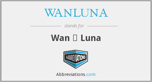 What does WANLUNA stand for?