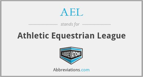 AEL - Athletic Equestrian League