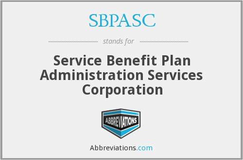 What does SBPASC stand for?