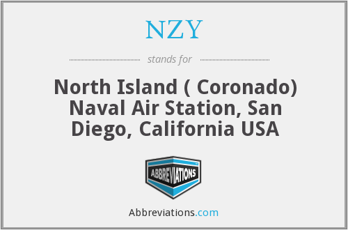 NZY - North Island ( Coronado) Naval Air Station, San Diego, California USA
