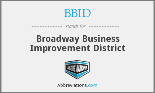 What does BBID stand for?