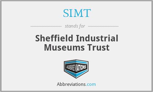 SIMT - Sheffield Industrial Museums Trust