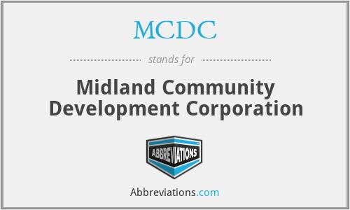 MCDC - Midland Community Development Corporation