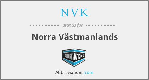 NVK - Norra Västmanlands
