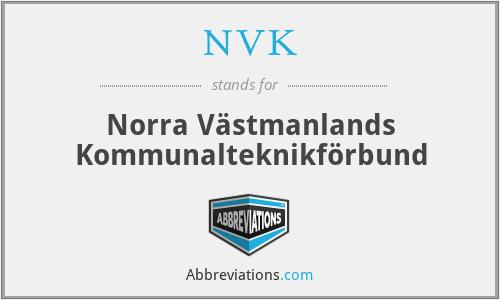 NVK - Norra Västmanlands Kommunalteknikförbund