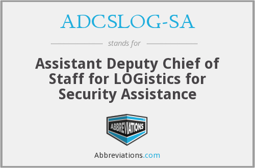 What does ADCSLOG-SA stand for?