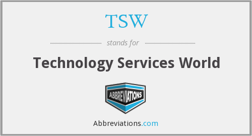 TSW - Technology Services World