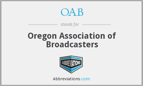 OAB - Oregon Association of Broadcasters