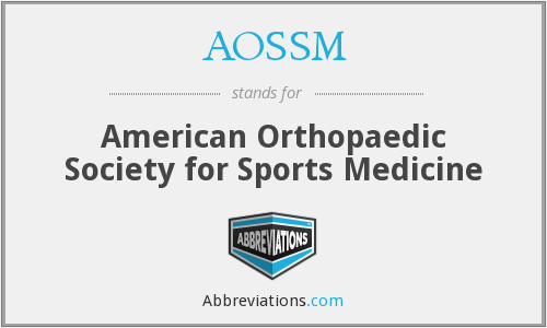 What does AOSSM stand for?