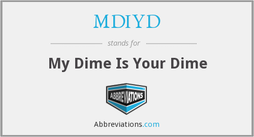 What does MDIYD stand for?