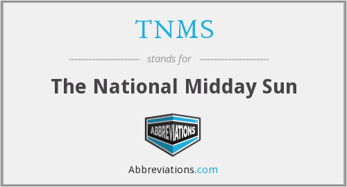 What does midday stand for?