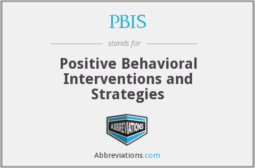 What does PBIS stand for?