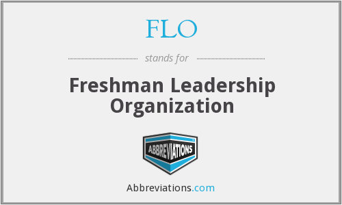 FLO - Freshman Leadership Organization