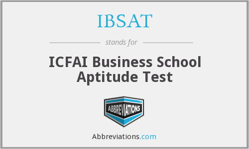 What does IBSAT stand for?
