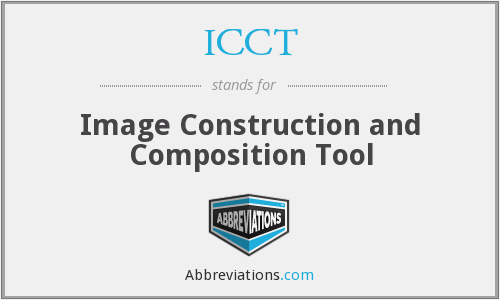 ICCT - Image Construction and Composition Tool