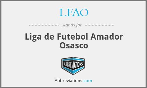 LFAO - Liga de Futebol Amador Osasco
