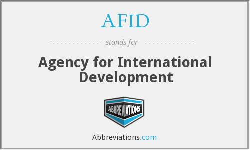 AFID - Agency for International Development