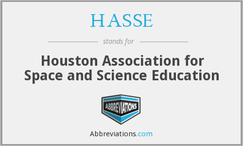 What does HASSE stand for?