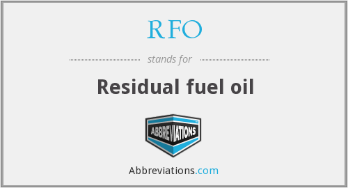 What does RFO stand for?