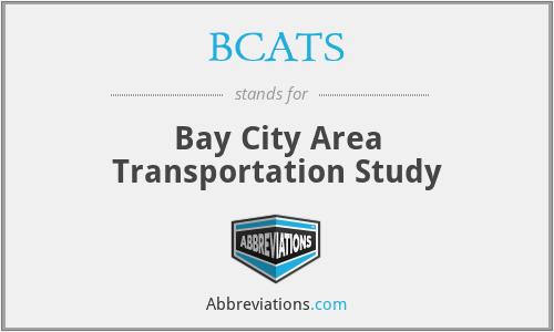 BCATS - Bay City Area Transportation Study