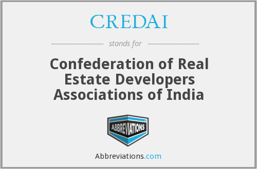 What does CREDAI stand for?