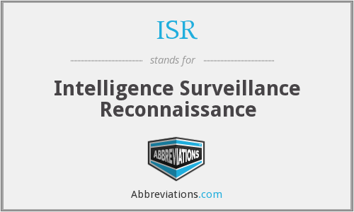 What does ISR stand for?