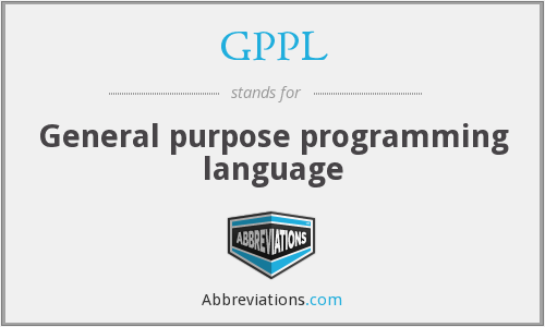 What does GPPL stand for?